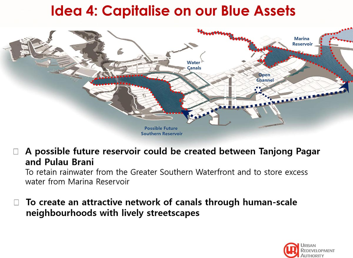 URA - Greater Southern Waterfront Idea 4