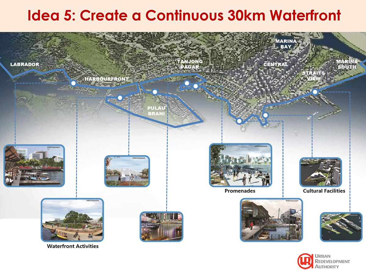 URA - Greater Southern Waterfront Idea 5